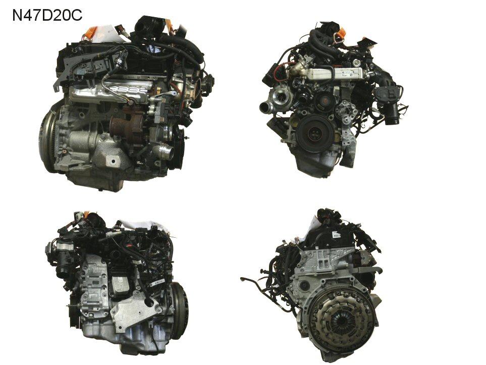 MOTORE BMW X1 (E84) 2000 D MF-N47D20C – My CMS